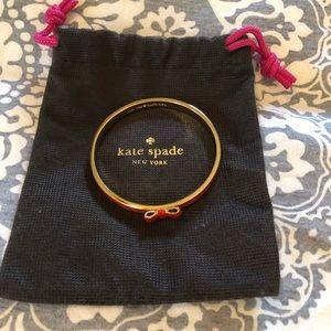 Kate spade red bangle